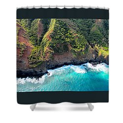 Cascading To The Sea Shower Curtain