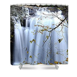 Cascading Water Fall Shower Curtain
