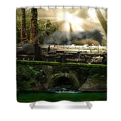 Casey Jones Shower Curtain