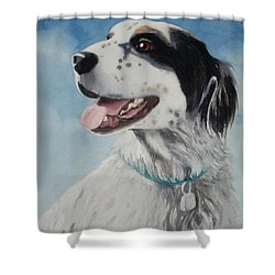 Casey Shower Curtain by Marilyn Jacobson