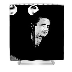 Shower Curtain featuring the photograph Cash by Paul W Faust - Impressions of Light