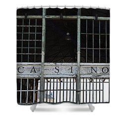 Casino Pier  Shower Curtain