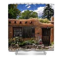 Casita De Santa Fe Shower Curtain