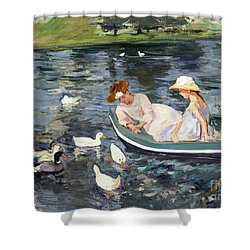 Cassatt: Summertime, 1894 Shower Curtain by Granger