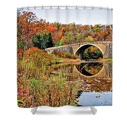 Casselman River Bridge Shower Curtain