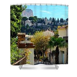 Cassis La Belle Shower Curtain