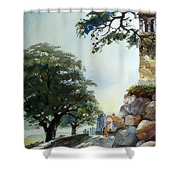 Castel At Borgo Rapale Shower Curtain