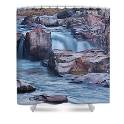 Caster River Shut-in Shower Curtain