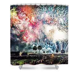 4th Finale Shower Curtain