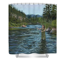 Casting Call Shower Curtain