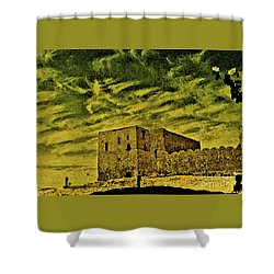 Castle Aswan Shower Curtain
