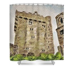 Castle Blarney Shower Curtain