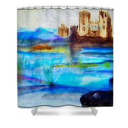 Castle By Colleen Ranney Shower Curtain