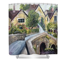 Castle Combe Shower Curtain by Roxy Rich