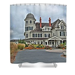 Castle Hill Inn Shower Curtain