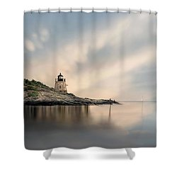 Castle Hill Light Shower Curtain