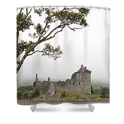 Castle Mist Shower Curtain