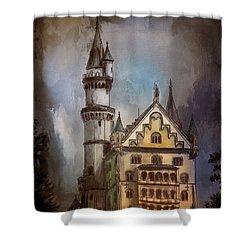 Castle Neuschwanstein Shower Curtain