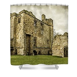 Castle Of Ashby Shower Curtain