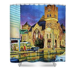 Castle Of Imagination Shower Curtain
