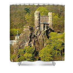 Castle On A Rock Shower Curtain