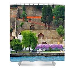 Castle On The Bosphorus Shower Curtain