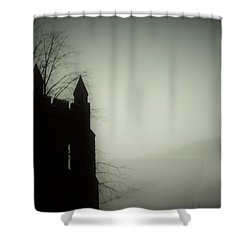 Castle Tower Shower Curtain