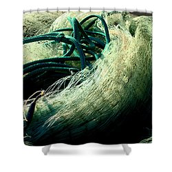Castnet Ropes Shower Curtain