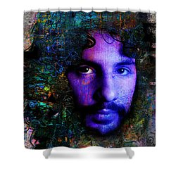 Cat Stevens Shower Curtain