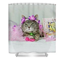 Cat Tea Party Shower Curtain
