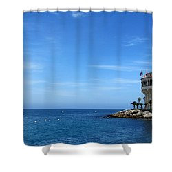 Catalina Island Casino Shower Curtain
