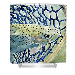 Catch And Release Shower Curtain