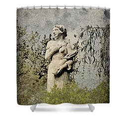 Catch Her Breath Shower Curtain by Bill Cannon