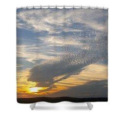 Catch The Morning Sun Shower Curtain