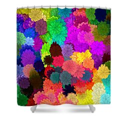Catcha Little Groove Shower Curtain