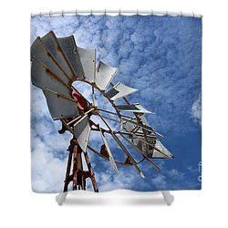 Shower Curtain featuring the photograph Catching The Breeze by Stephen Mitchell