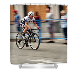 Catching Up Shower Curtain
