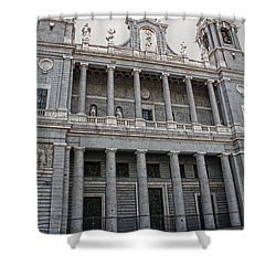 Catedral De La Almudena 2 Shower Curtain