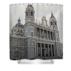 Catedral De La Almudena Shower Curtain
