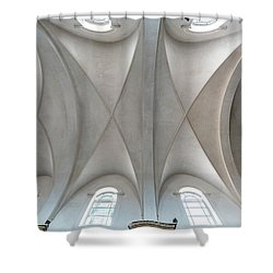 Catedral De La Purisima Concepcion Ceiling Shower Curtain