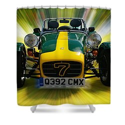 Caterham 7 Shower Curtain