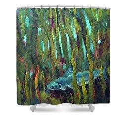 Catfish Shower Curtain