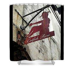 Catfish Row Shower Curtain