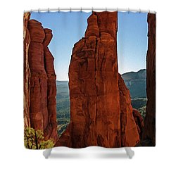 Cathedral 07-056 Shower Curtain