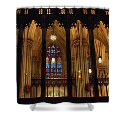 Shower Curtain featuring the photograph Cathedral Arches by Jessica Jenney