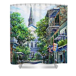 Cathedral At Orleans Shower Curtain