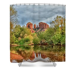Cathedral Entrances Us Shower Curtain