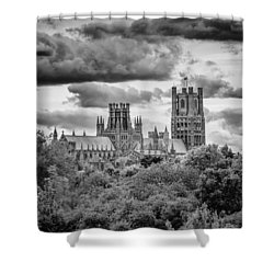 Cathedral From The North-east Shower Curtain