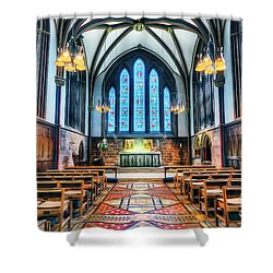 Cathedral Glow Shower Curtain