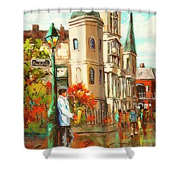 Cathedral Jazz Shower Curtain